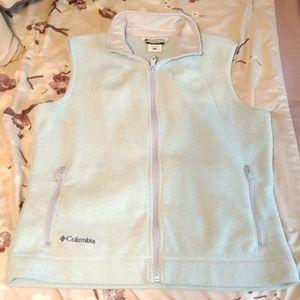 Columbia fleece vest size lg